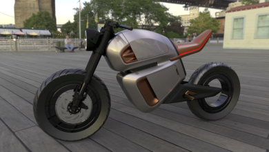 Photo de 300 km sans faire le plein : la moto électrique du futur vient d'Aix-en-Provence