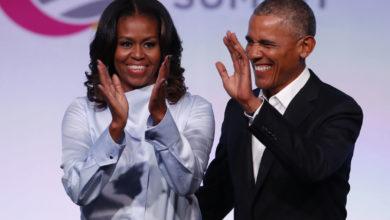 Photo de Michelle et Barack Obama remportent un Oscar